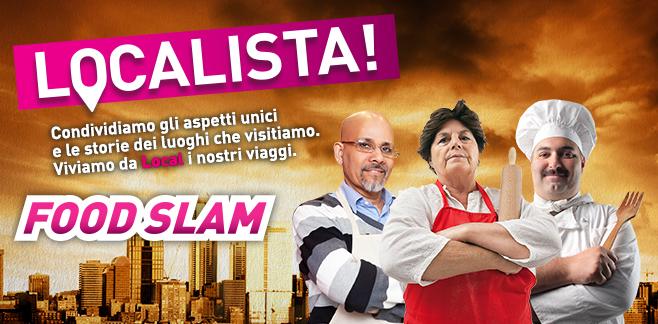 Food Slam. Contrasti di gusto [moodgraphic #Localista!]
