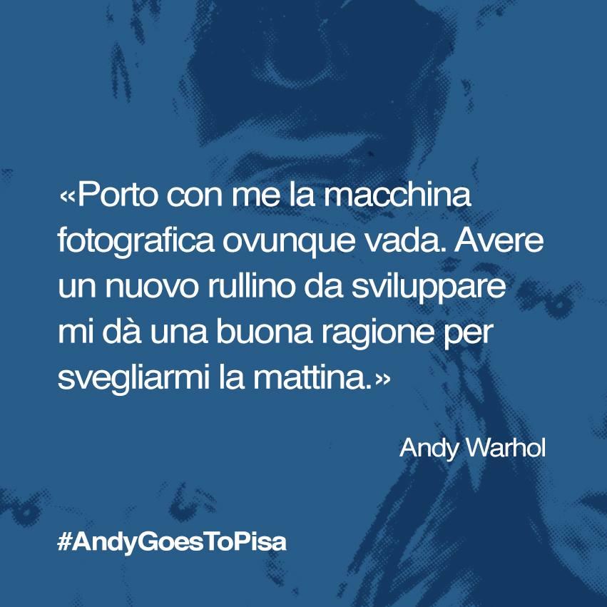 La social campaign per la mostra Andy Warhol a Pisa: 18.000 appassionati sui social network e 80.000 visitatori a Palazzo Blu