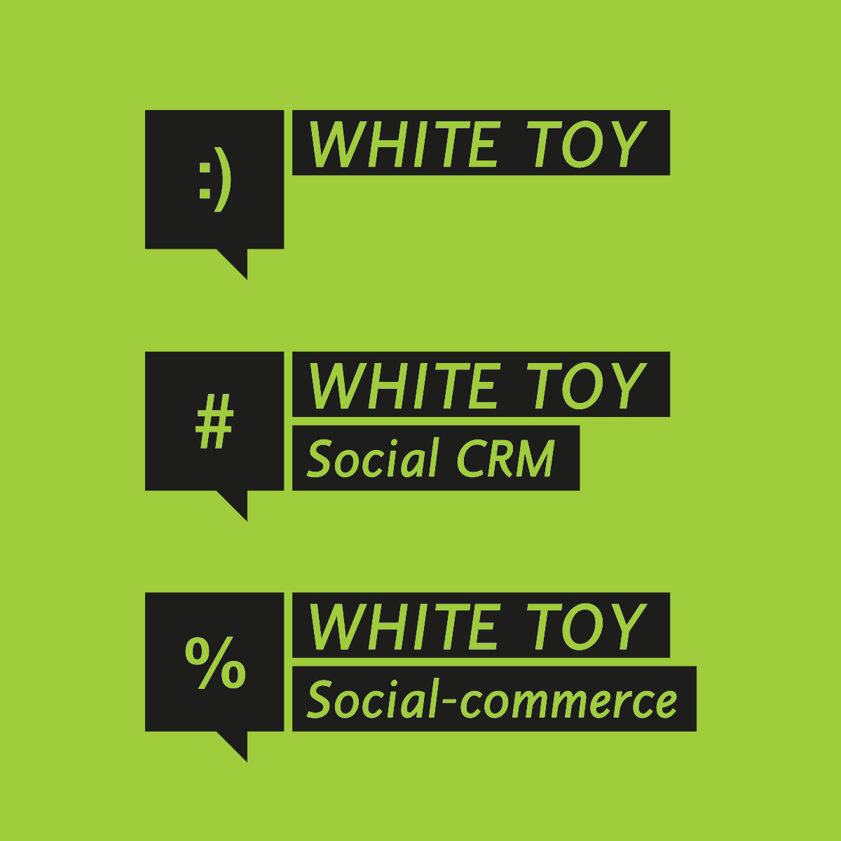 WhiteToy®. Le nostre tecnologie utili