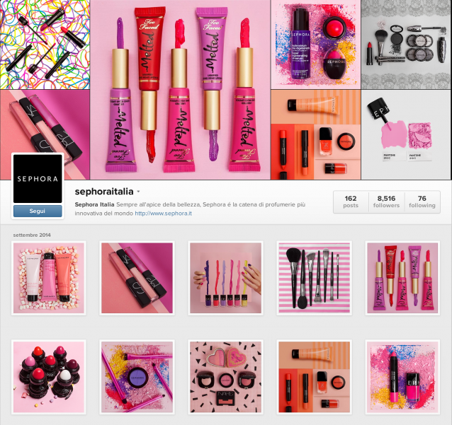 sephora-thegoodones-social-marketing-Instagram