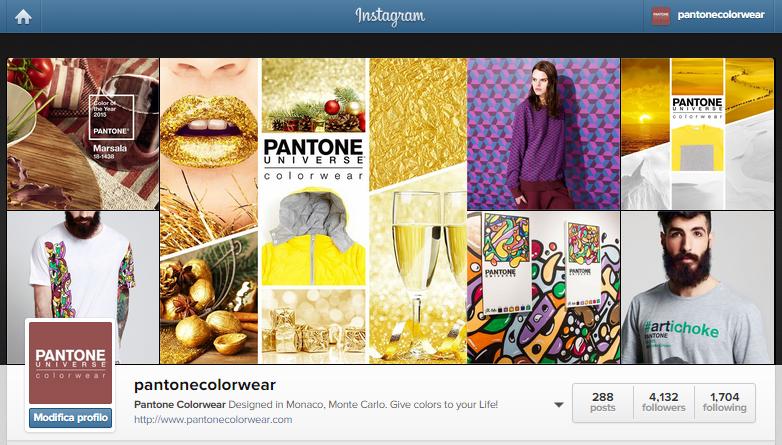 Pantone Universe Colorwear. Domani, dal Pitti ai social network