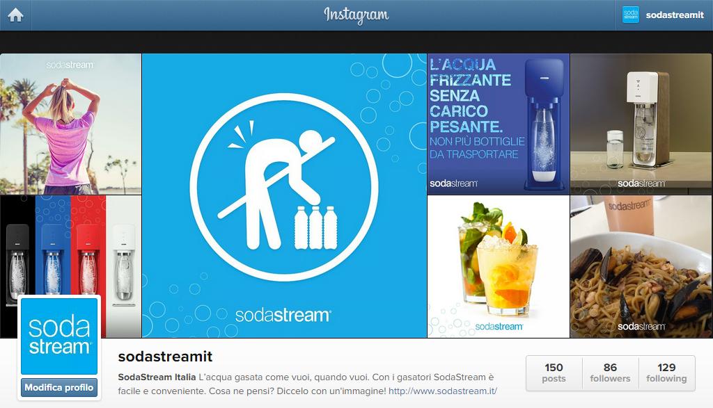 Sodastream. Tra mass market televisivo e trend emergenti sui social
