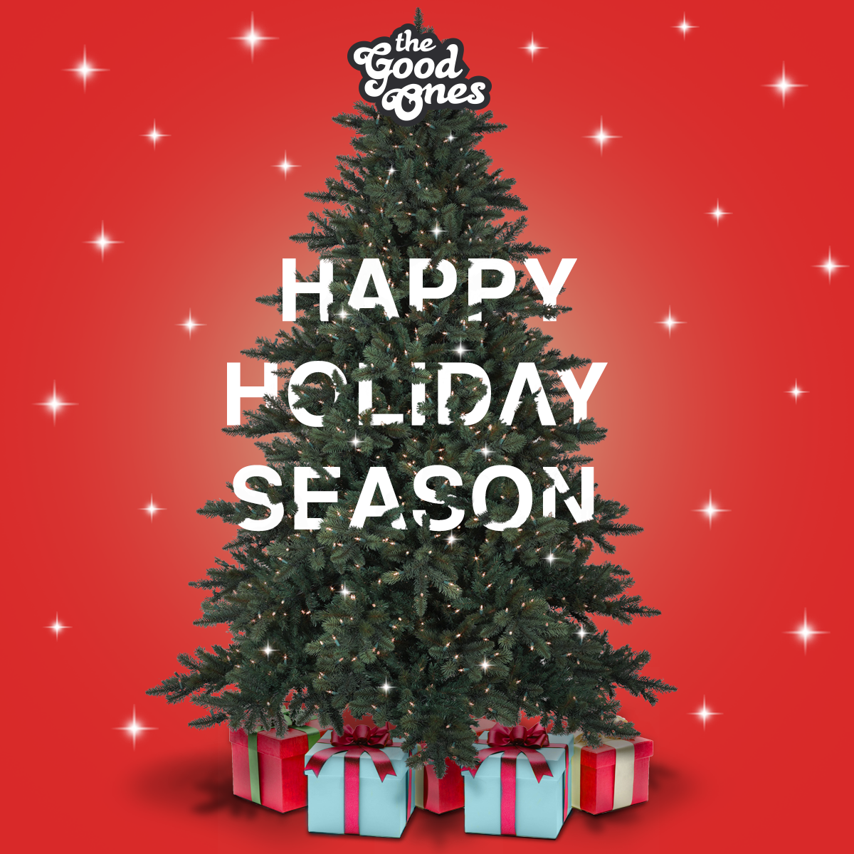 We are TheGoodOnes, not only at Christmas. Happy Holiday Season!