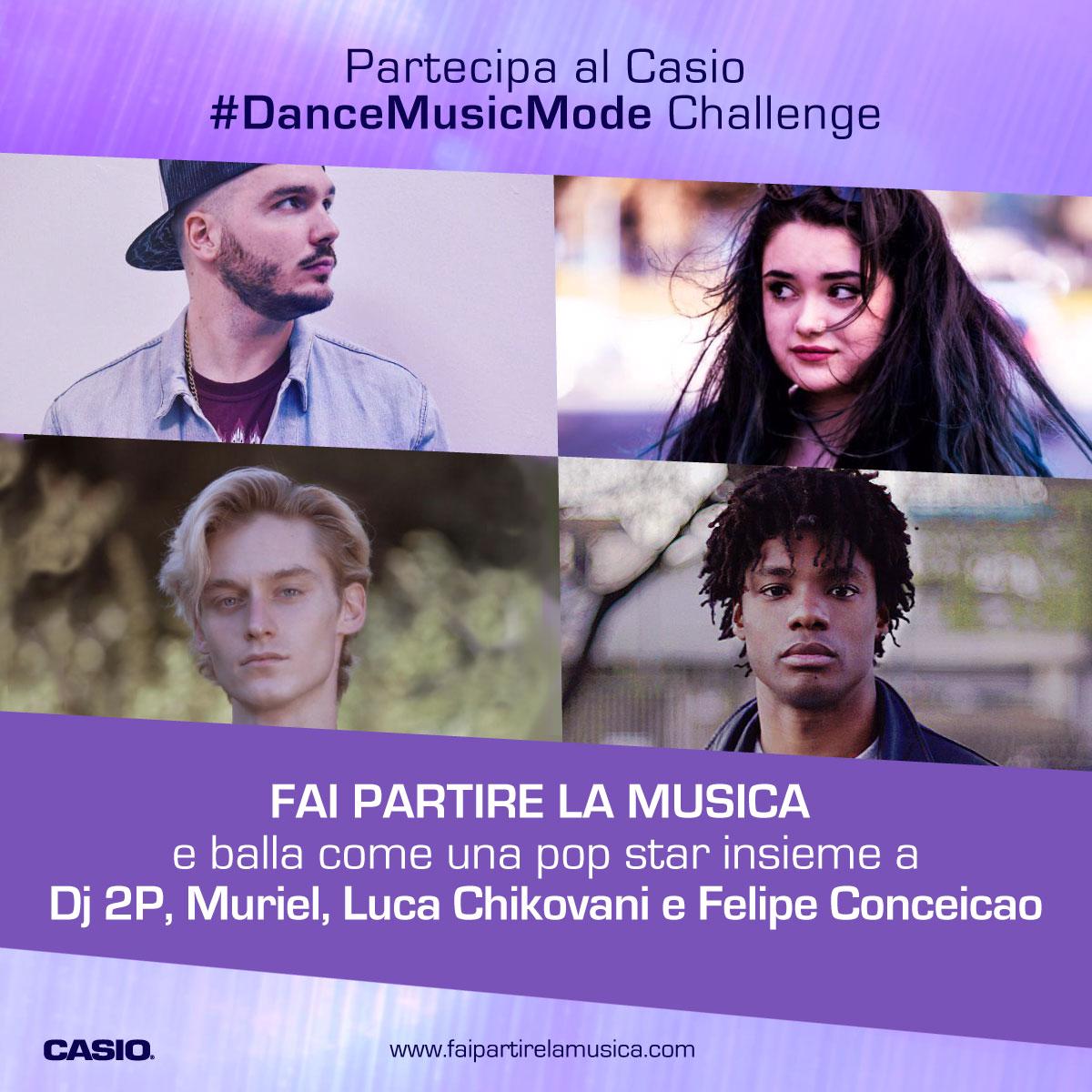Fai partire la musica. La campagna multicanale per Casio Music Italia