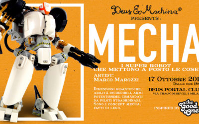 """Oggi debutta la mostra dei Super Robot """"MECHA"""""""