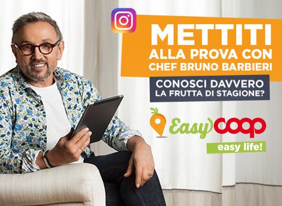 EasyCoop, easy life. La campagna social con lo Chef Bruno Barbieri